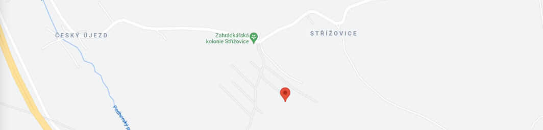 prodej chata chalupa 62m chlumec strizkovice mapa